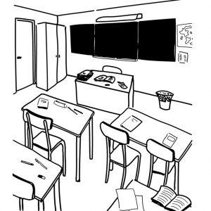 coloriage-salle-de-classe-1